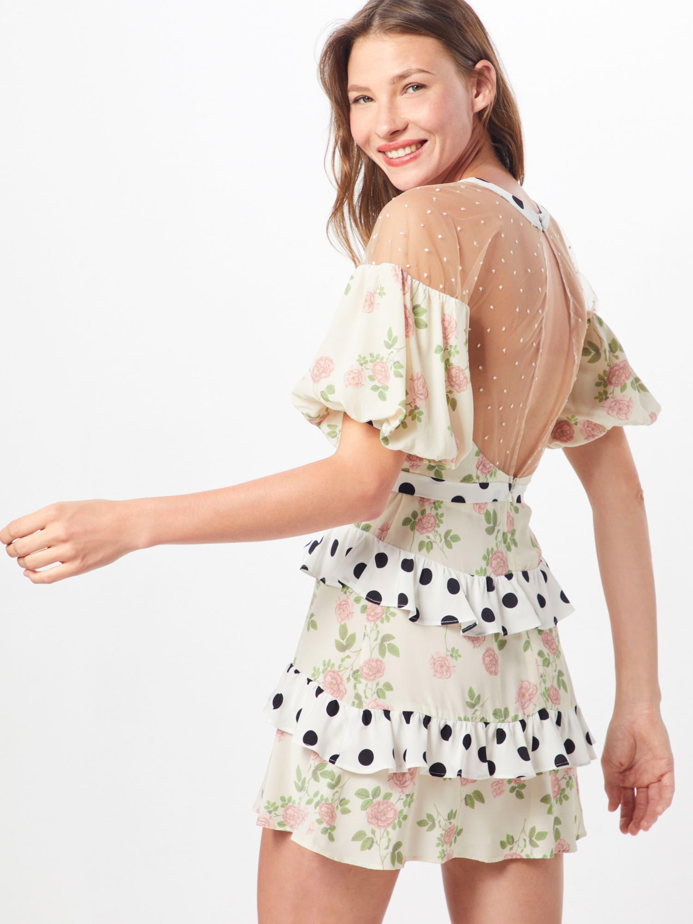 Loveamp; In 'butterscotch' Kleid BeigeMischfarben Lemons For nOP0kw
