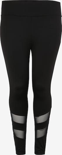 Pantaloni sport 'ABELARUS' Active by Zizzi pe negru, Vizualizare produs