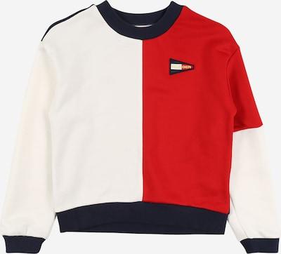 TOMMY HILFIGER Sweatshirt in navy / rot, Produktansicht