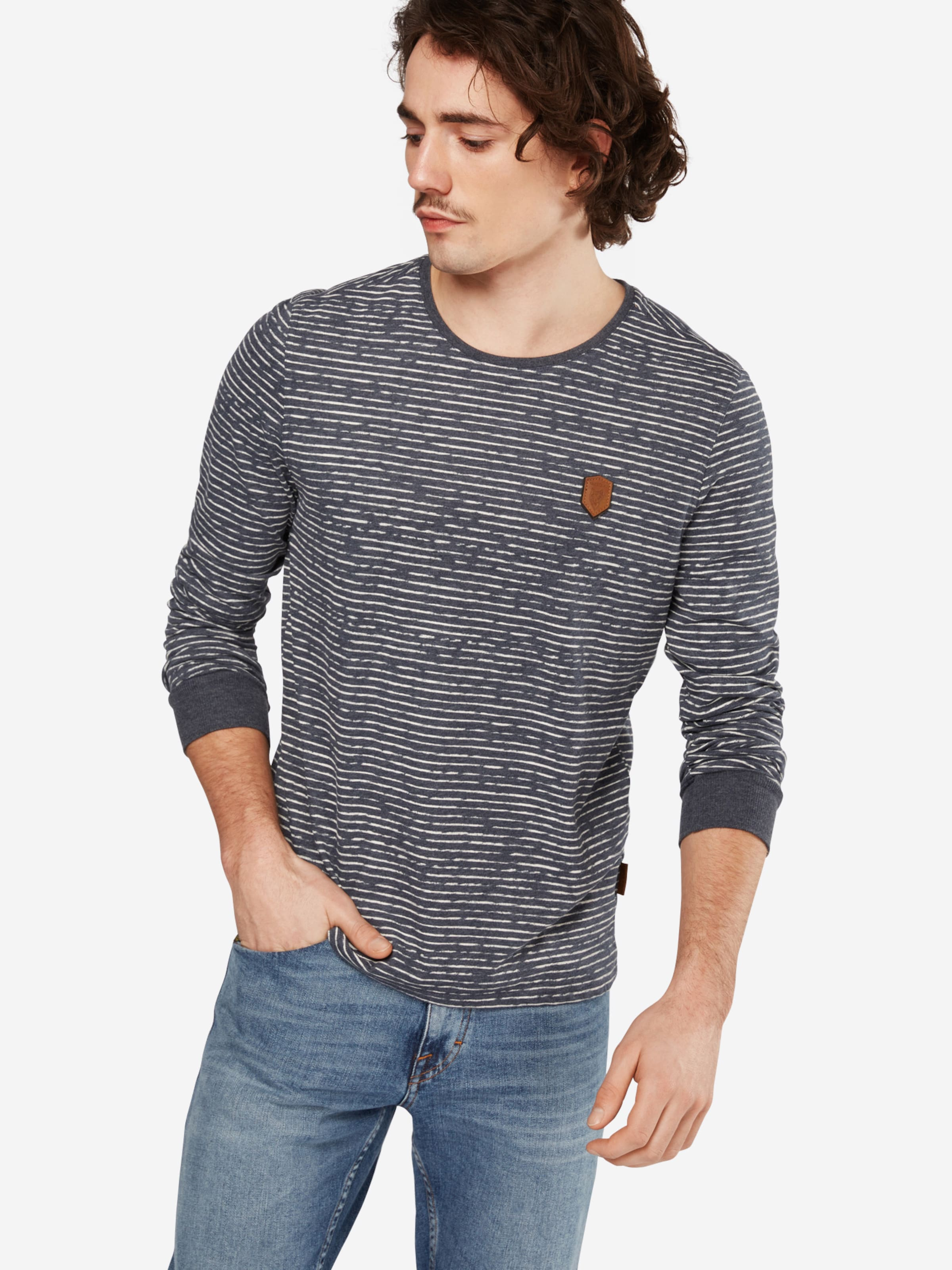 shirt T Indigo En Langen' Naketano 'hosenpuper yvOm80wNn
