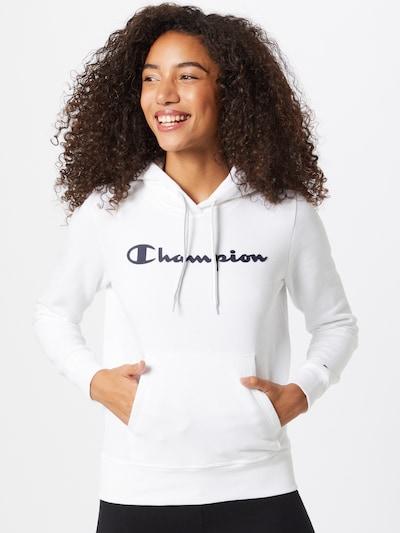 Champion Authentic Athletic Apparel Majica | črna / bela barva: Frontalni pogled