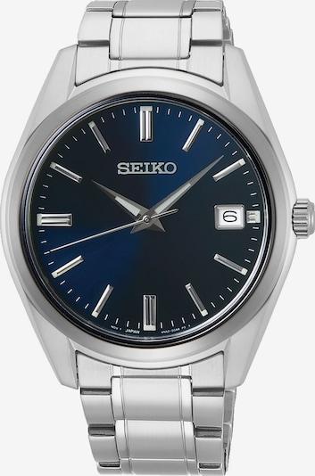 SEIKO Uhr in kobaltblau / silber, Produktansicht