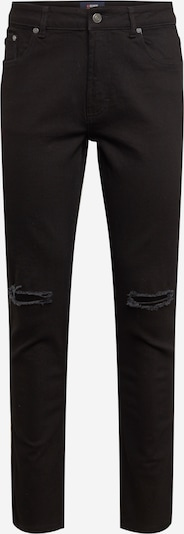 Denim Project Jeans 'Mr Red Knee Cut' in de kleur Black denim, Productweergave