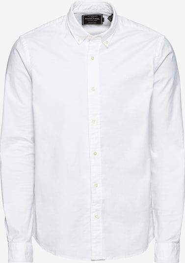Cămașă 'NOS Shirt with contrast details' SCOTCH & SODA pe alb, Vizualizare produs