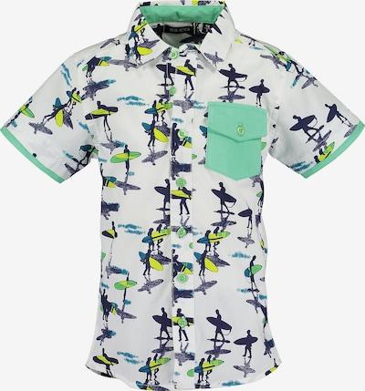 BLUE SEVEN Kurzarmhemd in weiß, Produktansicht