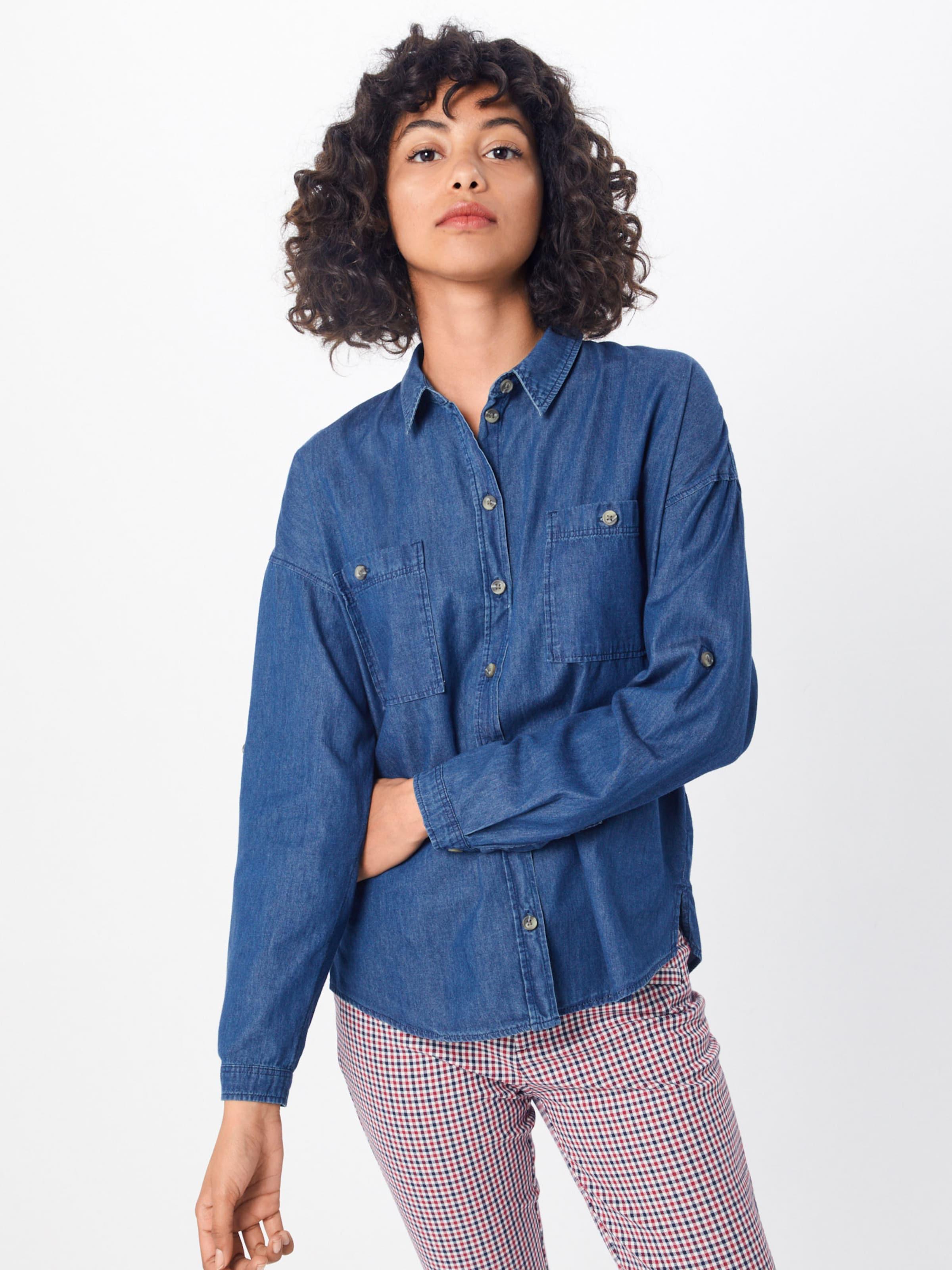 Denim Blue Tom In Tailor Bluse I6bfyv7Yg
