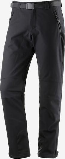 Maier Sports Softshellhose 'Tech' in schwarz, Produktansicht