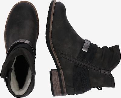 RIEKER Stiefel in anthrazit: Seitenansicht