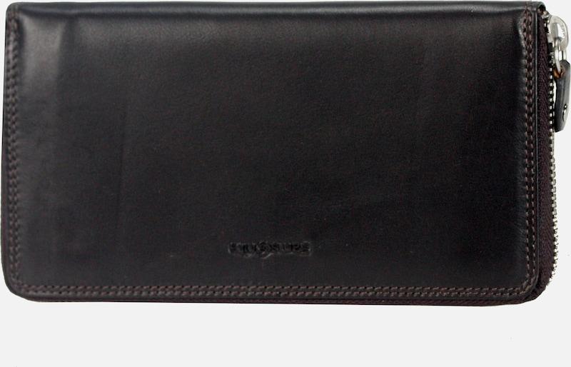 SAMSONITE Attack SLG Reißverschluss-Geldbörse Leder 19 cm