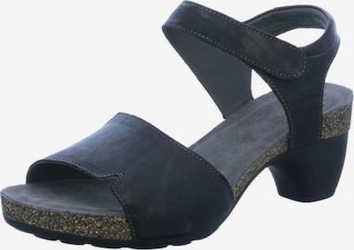 THINK! Sandale in schwarz, Produktansicht