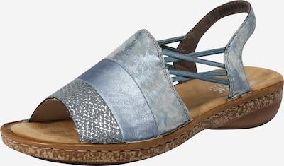 RIEKER Remienkové sandále - modré, Produkt