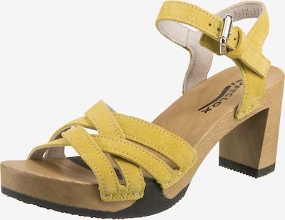 SOFTCLOX Riemchensandaletten 'Lanea' in gelb, Produktansicht