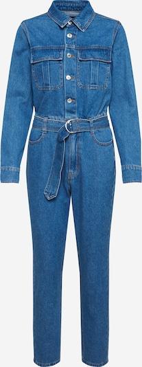 Bardot Combinaison 'CLASSIC DENIM JUMPSUIT' en bleu denim, Vue avec produit