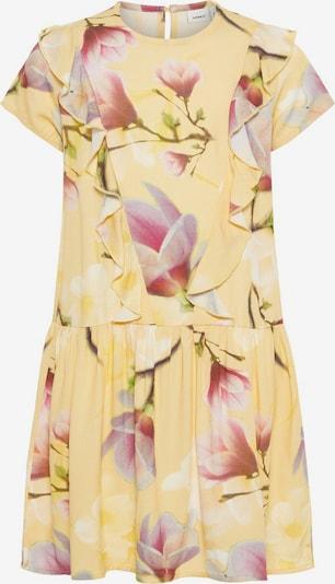 NAME IT Kleid in gelb / hellgrün / rosa, Produktansicht