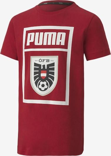 PUMA T-Shirt in kirschrot, Produktansicht
