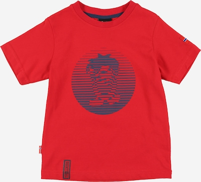 TROLLKIDS Shirt in blau / rot, Produktansicht