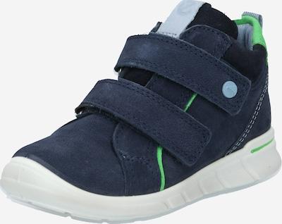 ECCO Sneaker 'First' in dunkelblau / neongrün, Produktansicht