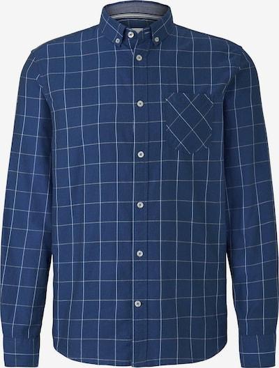 TOM TAILOR Hemd in enzian / weiß, Produktansicht