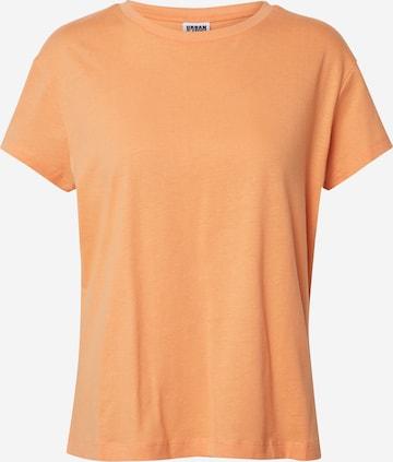 Urban Classics Tričko - oranžová