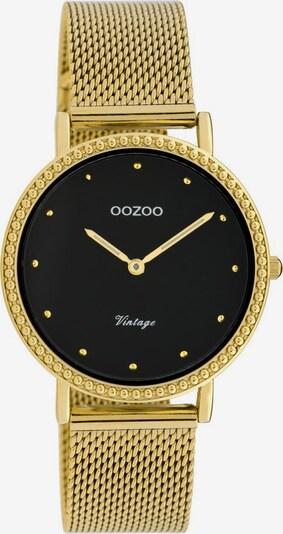 OOZOO Uhr 'C20055' in gold / schwarz, Produktansicht