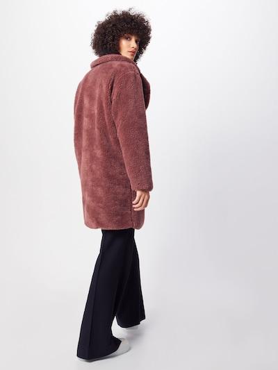 Urban Classics Manteau mi-saison 'Sherpa Coat' en rosé: Vue de dos