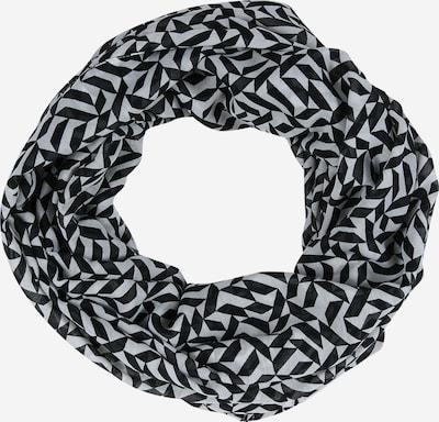 ESPRIT Šála 'Geo Infinity' - černá / bílá: Pohled zepředu