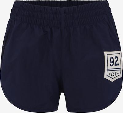 PUMA Sportbroek in de kleur Donkerblauw: Vooraanzicht