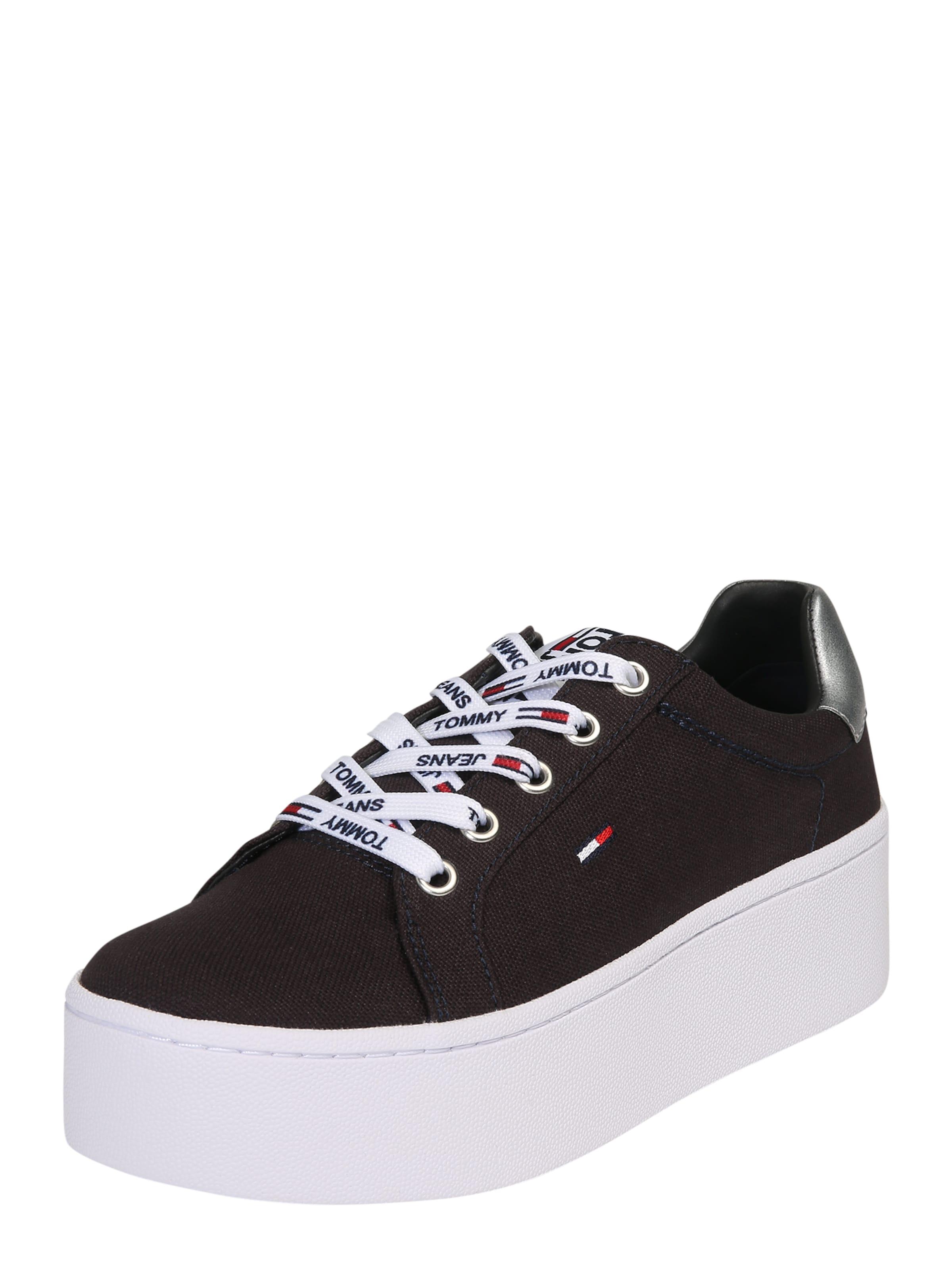 Tommy Jeans Sneaker mit Plateau dunkelblau mt7Oho