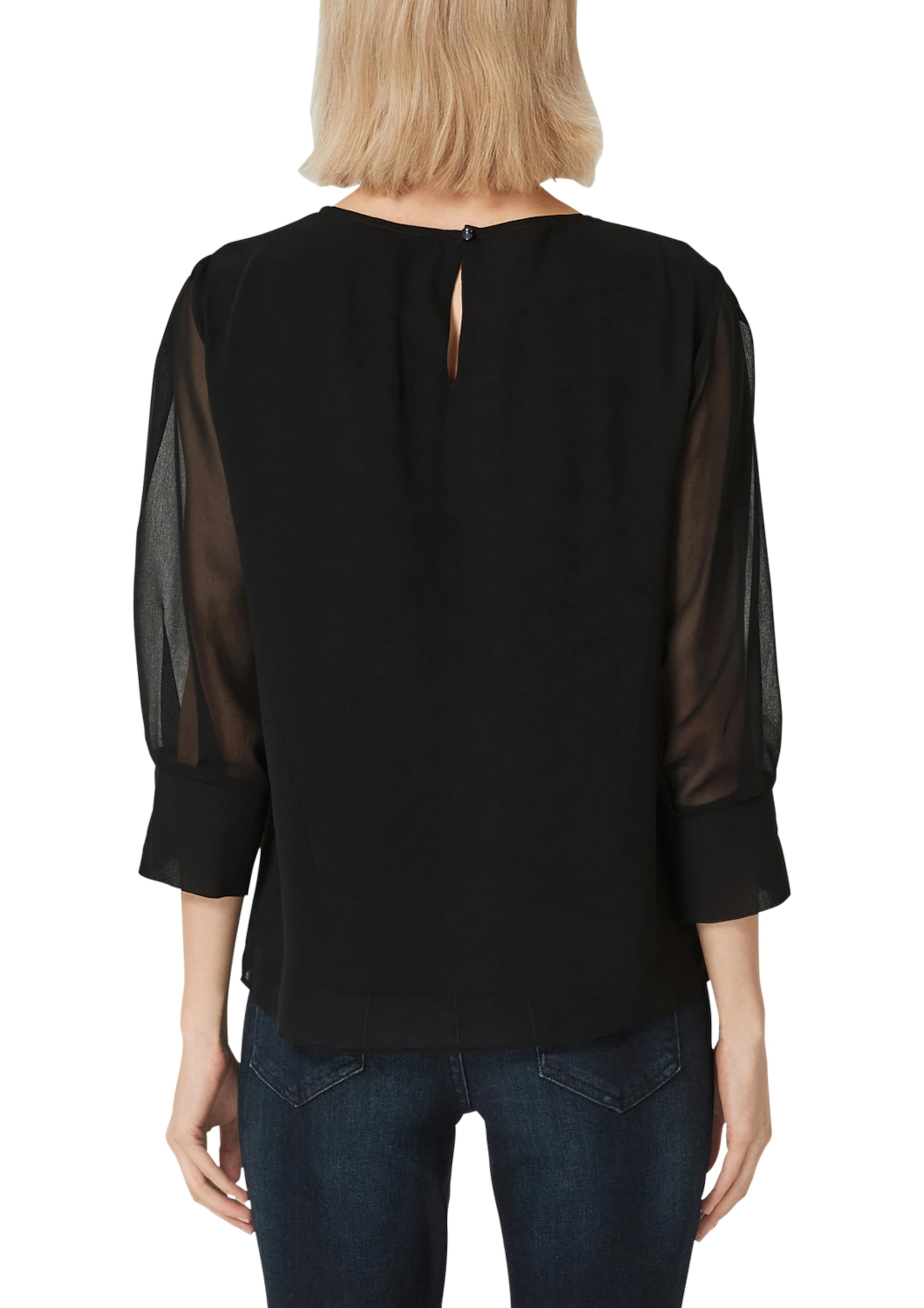 oliver Schwarz Black Bluse Label In S 76vfbyYg