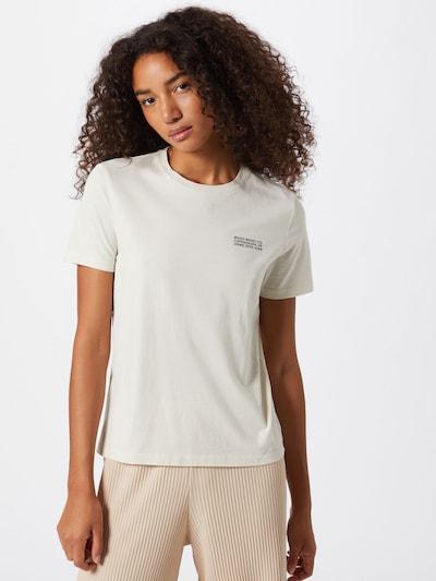 WOOD WOOD T-shirt 'Aria' in schwarz / weiß: Frontalansicht