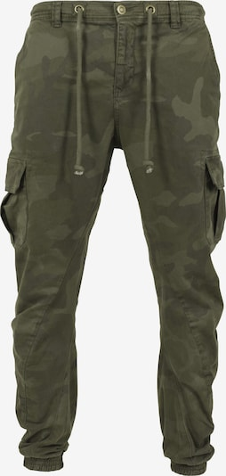 Urban Classics Cargo hlače u zelena / maslinasta / tamno zelena, Pregled proizvoda