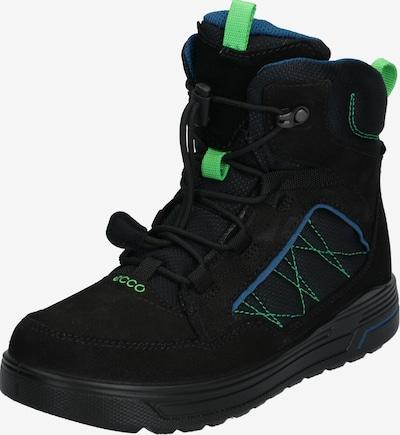 ECCO Schuhe 'Urban Snowboarder BlackPoseidon' in neongrün / schwarz, Produktansicht