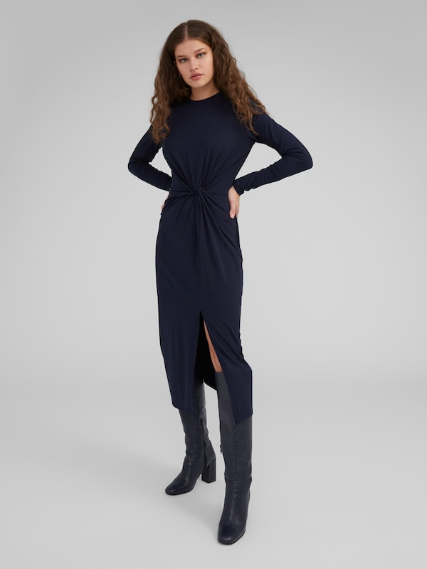 EDITED Kleid 'Meryl' in navy: Frontalansicht