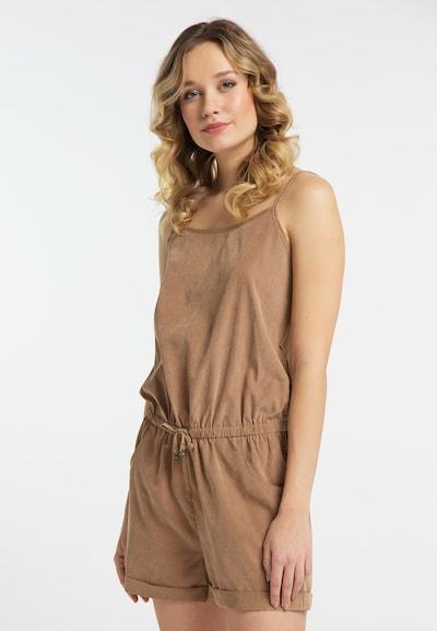 DREIMASTER Jumpsuit in beige, Modelansicht