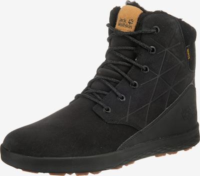 JACK WOLFSKIN Winterstiefeletten 'Auckland WT Texapore High M' in hellbraun / schwarz, Produktansicht