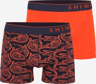 Shiwi Boxerky - světle červená / černá: Pohled zepředu