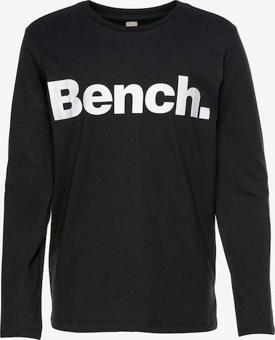 BENCH Shirt in schwarz / weiß, Produktansicht