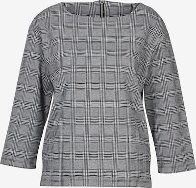heine Bluse in grau / schwarz / weiß, Produktansicht