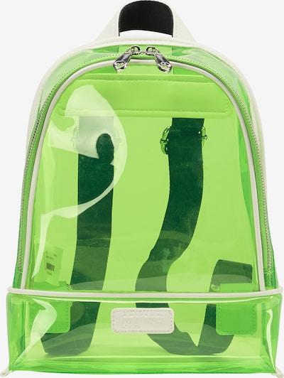 myMo ATHLSR Sac à dos de sport en vert fluo / noir, Vue avec produit