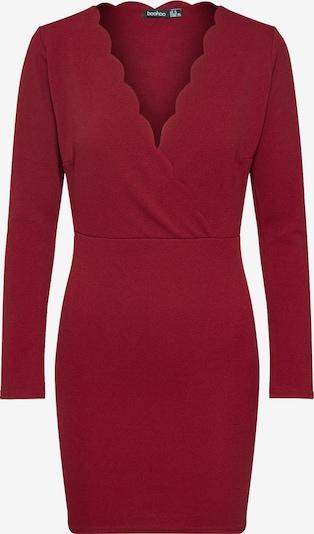 Boohoo Šaty 'Scallop' - krvavě červená, Produkt