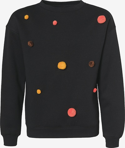 KIDS ONLY Sweatshirt 'KONTEDDY' in schwarz, Produktansicht