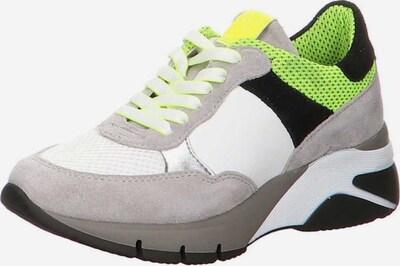 TAMARIS Sneaker in taupe / limette / weiß, Produktansicht
