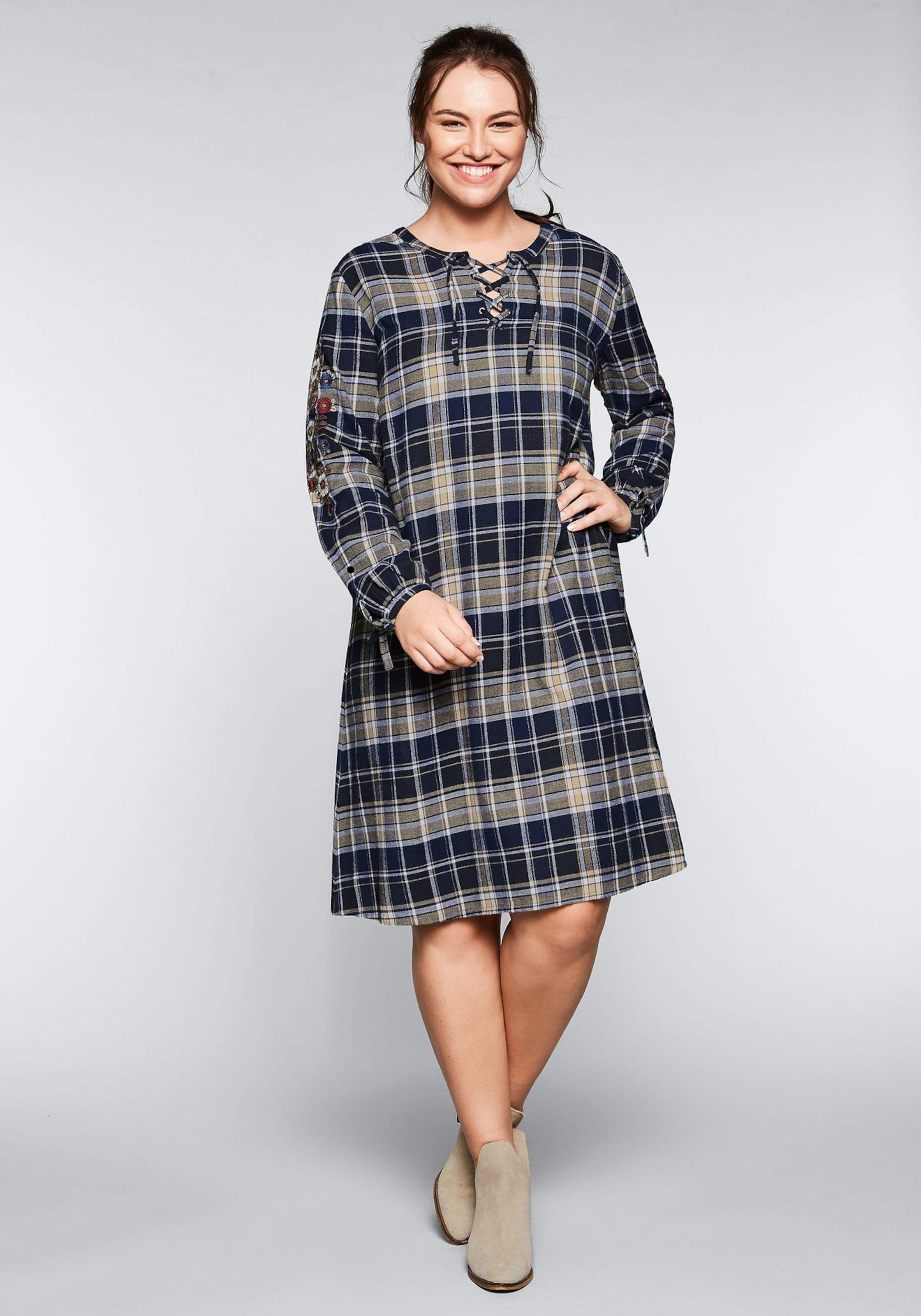 In In In Sheego Sheego NachtblauMischfarben NachtblauMischfarben In Kleid Sheego NachtblauMischfarben Kleid Kleid Sheego Kleid H92DEI