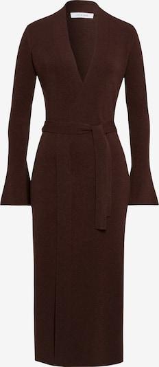 IVY & OAK Robes en maille en brun foncé, Vue avec produit