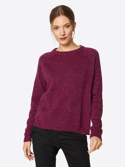 minimum Pullover in lila, Modelansicht