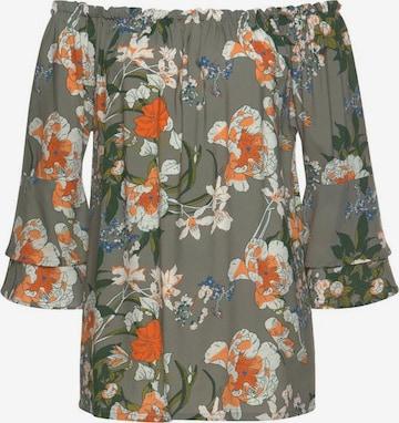 LASCANA Bluse in Grün