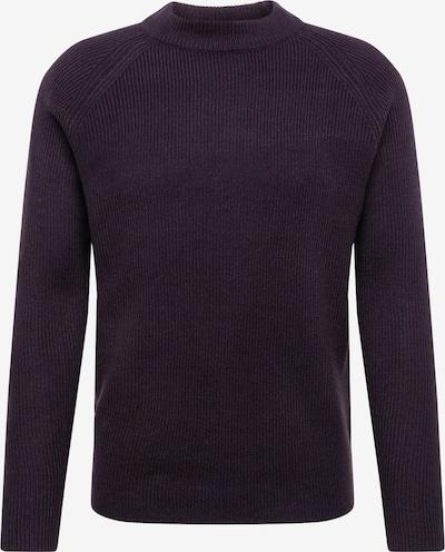BURTON MENSWEAR LONDON Pullover 'fisherman black' in schwarz, Produktansicht