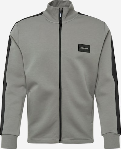 Calvin Klein Tepláková bunda - sivá / čierna, Produkt