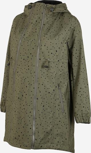 Palton de primăvară-toamnă 'Shella Dota' MAMALICIOUS pe oliv / negru, Vizualizare produs