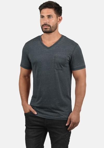 !Solid V-Shirt 'Theon' in blau: Frontalansicht